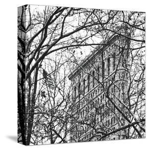 Veiled Flatiron Building (detail) by Erin Clark