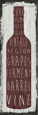Wine Sign IV by Erin Clark