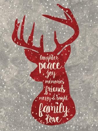 Xmas Deer by Erin Clark