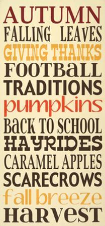Autumn Harvest by Erin Deranja