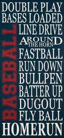 Baseball by Erin Deranja