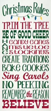 Christmas Rules by Erin Deranja