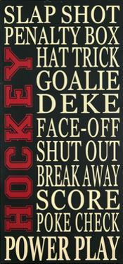 Hockey by Erin Deranja