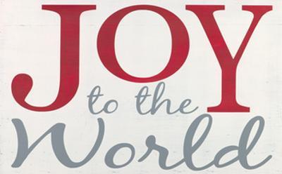 Joy to the World by Erin Deranja