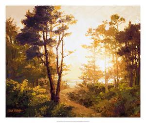 Gilded Pathway by Erin Dertner