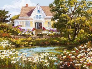 Overlooking the Pond by Erin Dertner