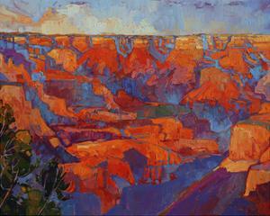 Grand Sunset (center) by Erin Hanson