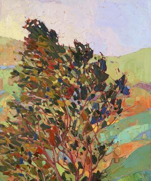 Hills in Quadtych (top right) by Erin Hanson