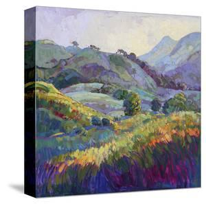 Jeweled Hills by Erin Hanson