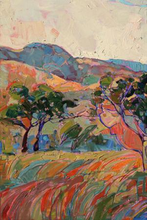 Summer in Triptych (left) by Erin Hanson