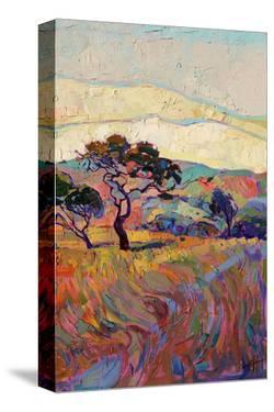 Summer in Triptych (right) by Erin Hanson