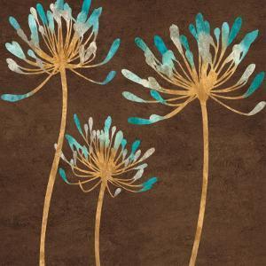 Teal Bloom I by Erin Lange