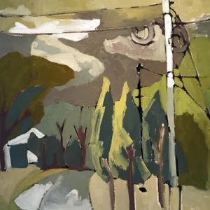 Trees & Wires IX by Erin McGee Ferrell