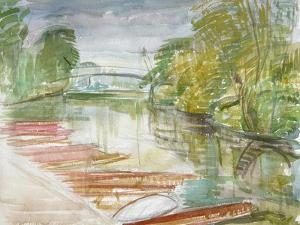 Punts on the Cherwell by Erin Townsend