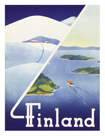 Finland - Summer and Winter in Finland by Erkki Hölttä
