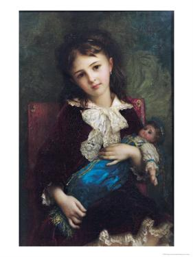 Portrait of Catherine Du Bouchage, 1879 by Ernest Antoine Hebert