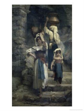 The Women of Cervaria by Ernest Antoine Hebert