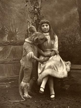 Alice and the Dormouse, 1887