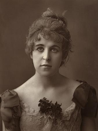 Miss Norreys, British Actress, 1887