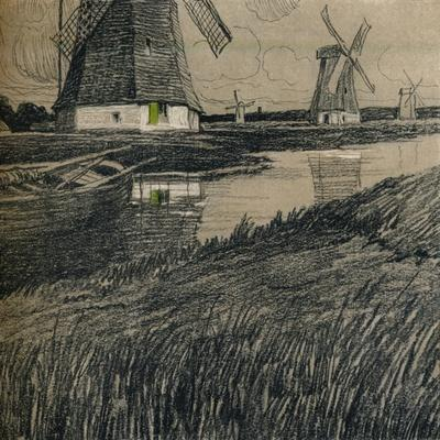 'Near Rotterdam', c1912