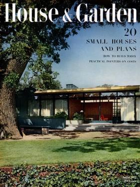 House & Garden Cover - August 1951 by Ernest Braun