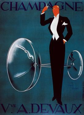 Champagne Vve. A. Devaux by Ernest Deutsch-dryden