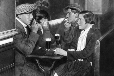 A Foursome in a Bal-Musette, Paris, 1931
