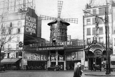 The Moulin Rouge, Paris, 1931. Artist: Ernest Flammarion