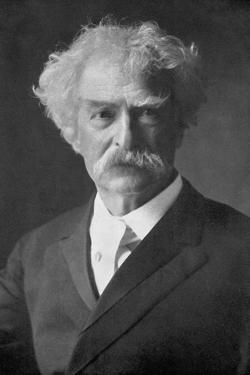 Samuel Langhorne Clemens, American Humorist, Novelist, Writer and Lecturer, 1910 by Ernest H Mills