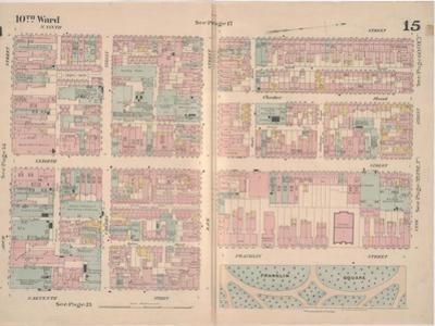 Insurance Map of the City of Philadelphia; Volume 2, Plate15, 1887 by Ernest Hexamer