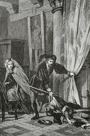Scene from Hamlet, 19th Century