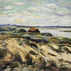 Shack on the Bay by Ernest Lawson
