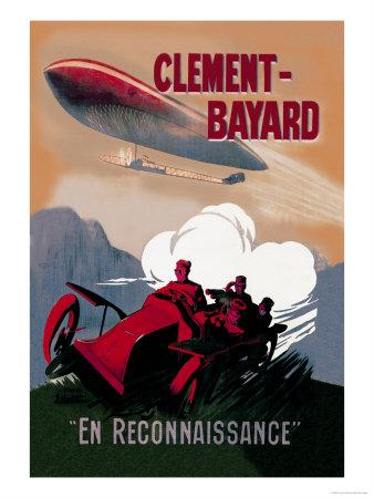 Clement-Bayard, French Dirigible