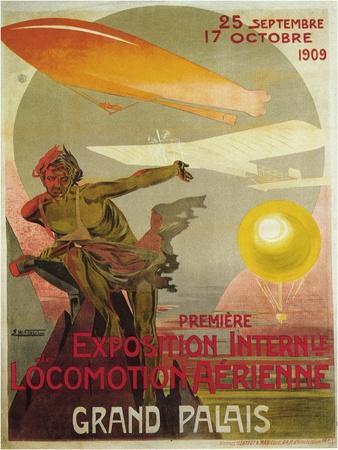 Exposition Internle De Locomotion Aerienne