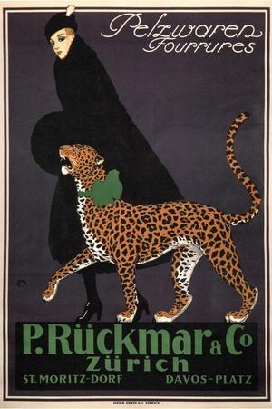 Fur Goods P. Rückmar and Co, C. 1910