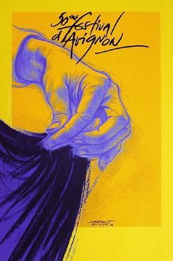 Festival d'Avignon 1996 by Ernest Pignon-Ernest