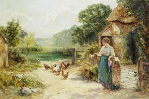 Feeding Time by Ernest Walbourn