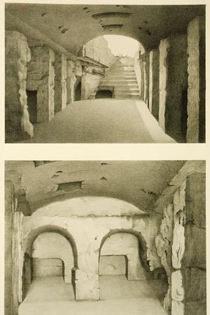 Underground Passages in the Necropolis of Said or Sidon from Mission De Phenicie, 1864