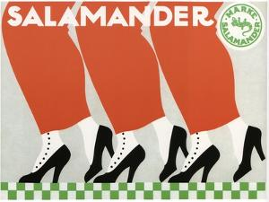 Salamander Shoes, 1912 by Ernst Deutsch