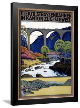 Elekktr Strassenbahnen im Kanton Zug by Ernst Emil Schlatter