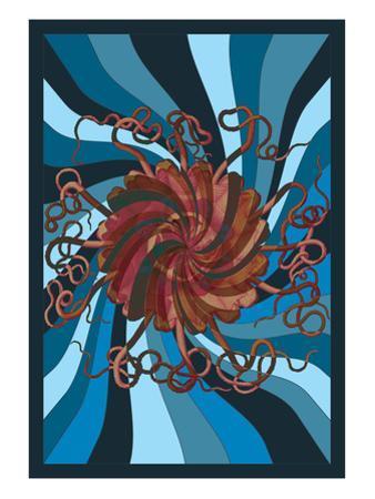Jellyfish: Psychedelic Jellyfish by Ernst Haeckel