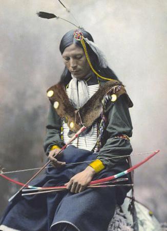 Native American Bow by Ernst Heyn