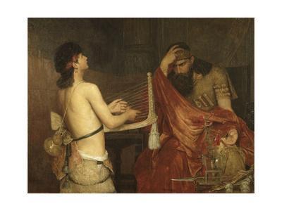 David and Saul, 1878