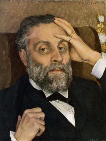 Portrait of Pontus Fürstenberg, 1883