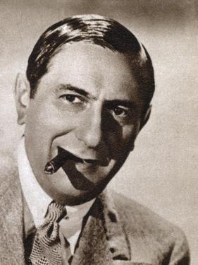 Ernst Lubitsch, German-Born Jewish Film Director, 1933