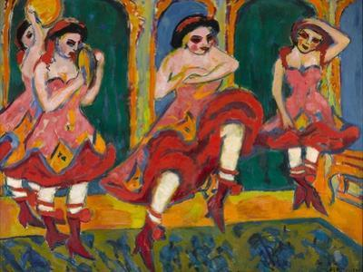 Czardas Dancers, 1908-1920