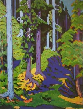 Inside the Forest, 1937 by Ernst Ludwig Kirchner