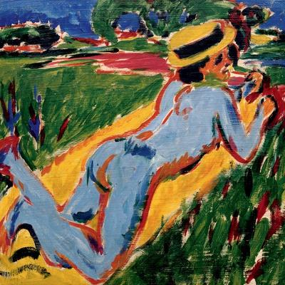 Recycling Blue Nude in a Straw Hat, 1909