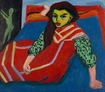 Seated Girl (Fränzi Fehrmann), 1910