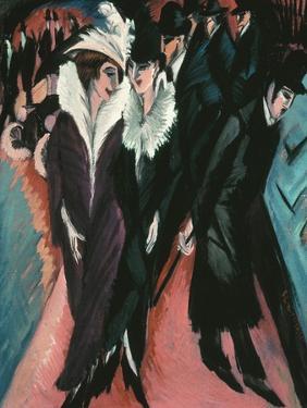 Street, Berlin by Ernst Ludwig Kirchner